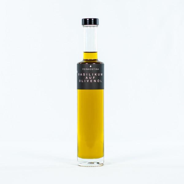 Basilikum auf Olivenöl 250 ml